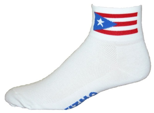 Gizmo Gear Puerto Rico Cycling Socks