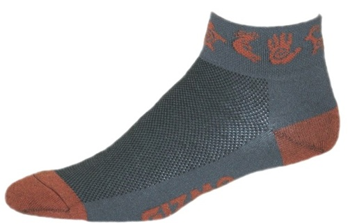 Gizmo Gear Rock Art Cycling Socks