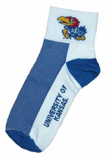 Gizmo Gear University of Kansas Cycling Socks
