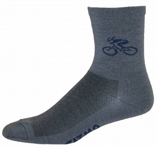 Gizmo Gear Wooly G5 Merino Wool Cycling Bicycle Socks