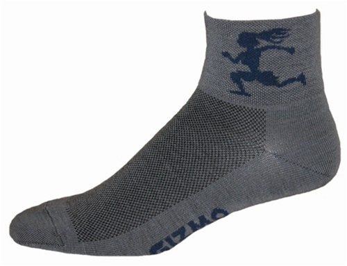 Gizmo Gear Wooly G5 Merino Wool Girl Running Socks