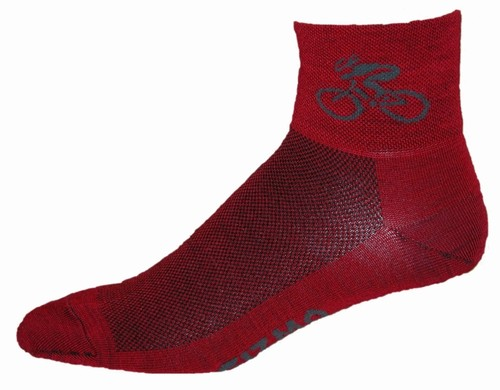Gizmo Gear Wooly G Merino Wool Cycling Bicycle Socks