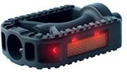 Deluxe Safety Flashing Pedal Battery Free LED Flashing Pedal