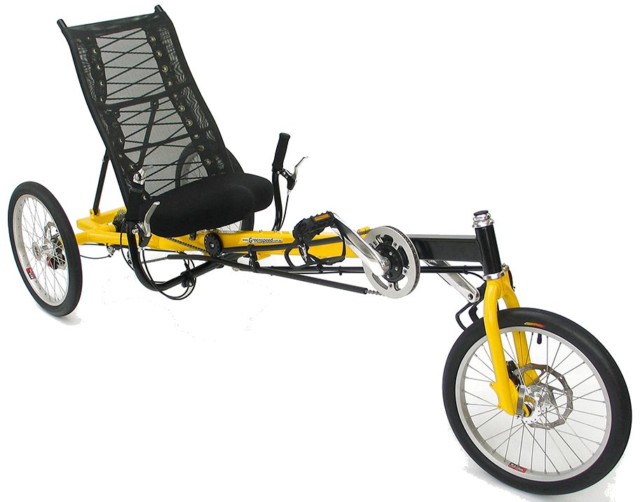 Greenspeed Anura Rl Recumbent 27 Speed Delta Tricycle