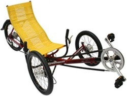 Greenspeed GT1 Folding Recumbent 27 Speed Tricycle