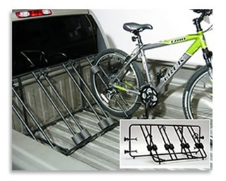 Heininger Advantage BedRack 4 Bike Pick up Truck Bike Rack
