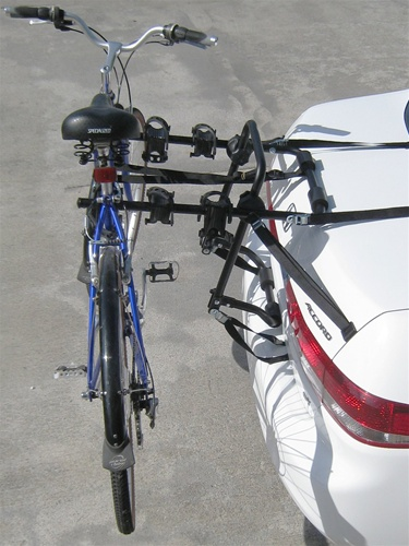Heininger Advantage SportsRack 3 Bike Trunk Rack