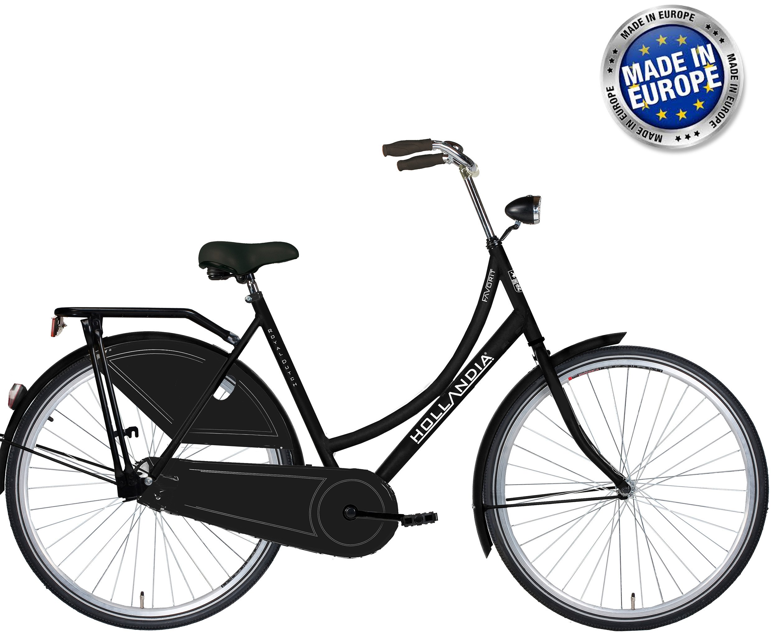 Hollandia Royal Dutch European City Bike Black 19""