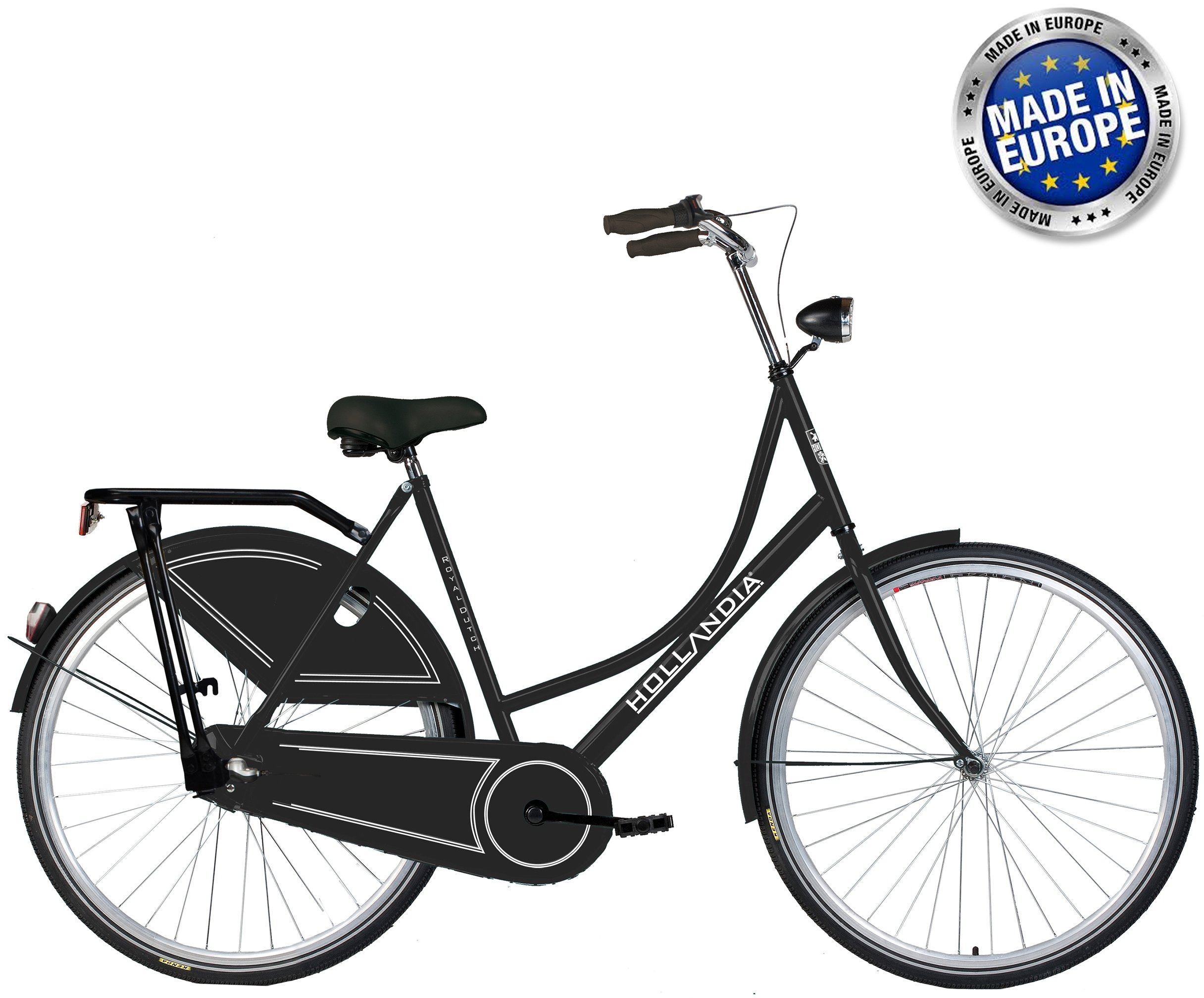 Hollandia Royal Dutch Shimano Nexus 3 Speed City Bike Black 19