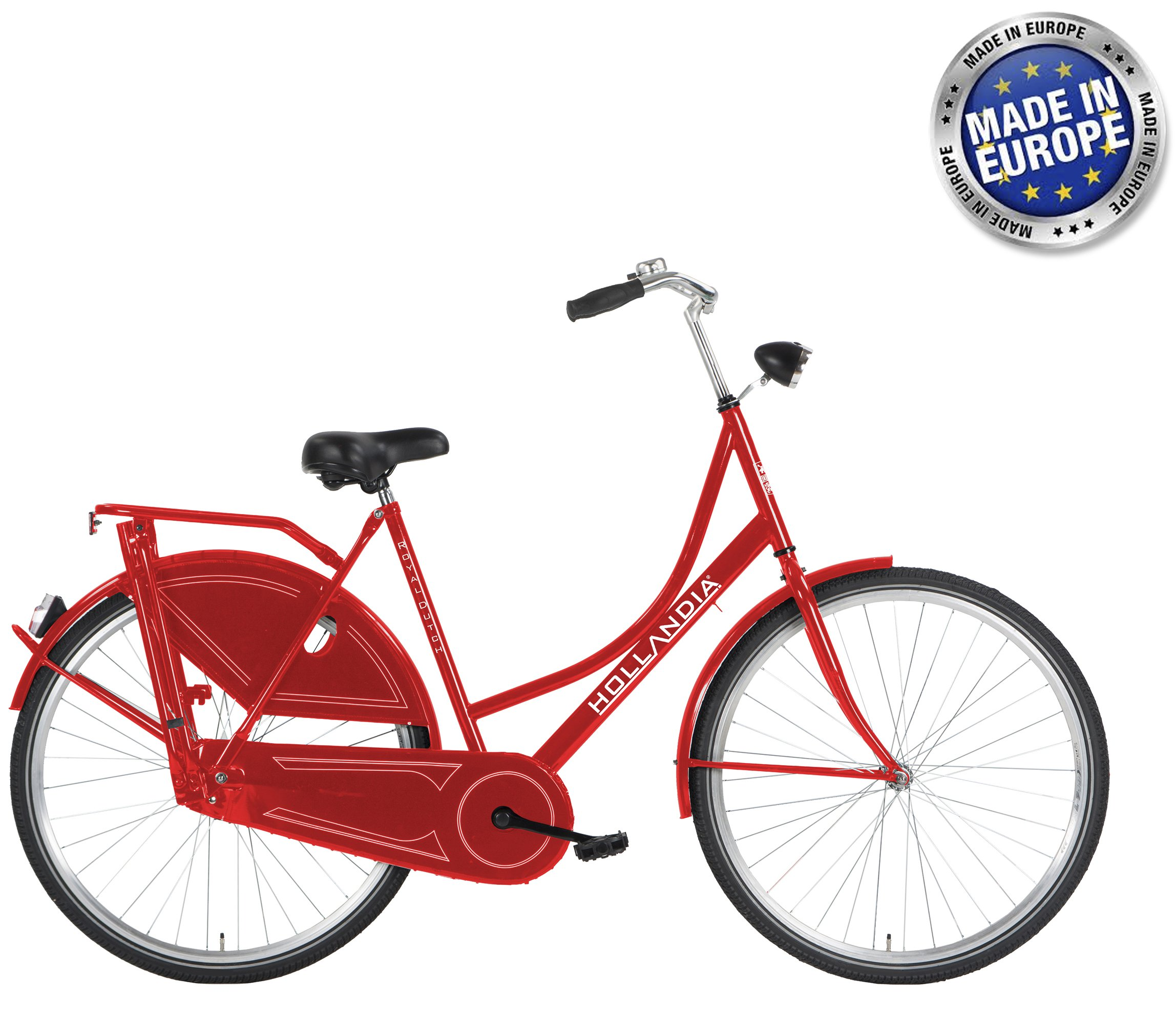 Hollandia Royal Dutch European City Bike Red 700C 22""