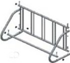 Husky 5 Bike Single Sided Parking Stand