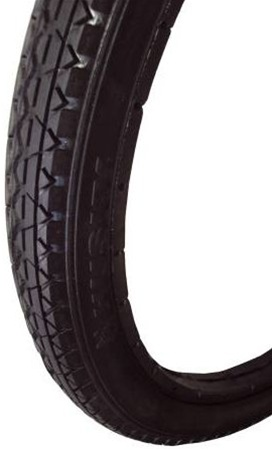 Husky Airless Street Industrial Grade 24 x 2125 Bicycle Tire