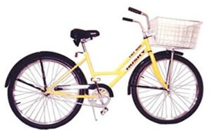 HUSKY Industrial Woman's Cruiser Single Speed Bicycle (Model HD 105)