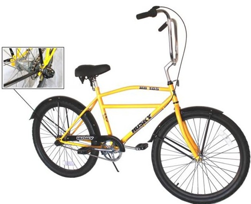 HUSKY Industrial Cruiser 3 Speed Bicycle (Model HD 105)