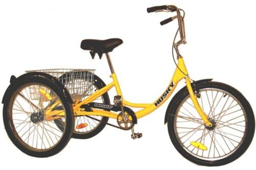 "Husky 24"" Industrial Tricycle with Basket (T 124C)"
