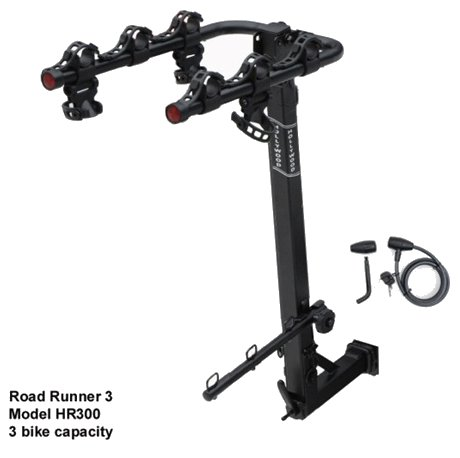 Hollywood Racks Original Road Runner 3 Bike Hitch Bicycle Rack
