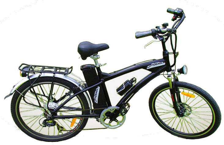 HyBikes Kinetic 6 Speed Electric Hybrid Bike