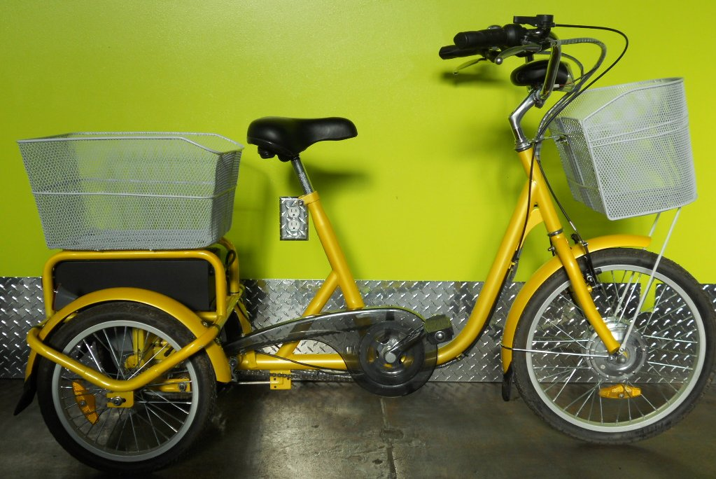 HyBikes Low Step Electric Tricycle