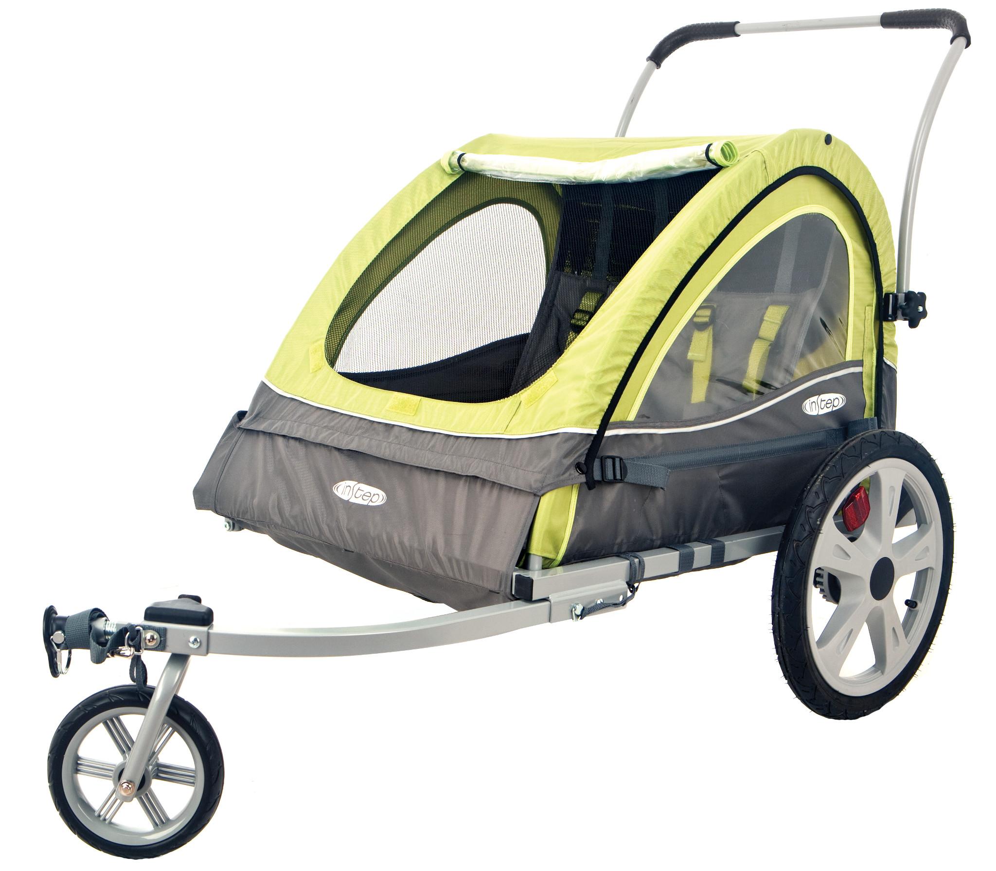 InStep Sierra Double Bicycle Trailer / Stroller (QL234)