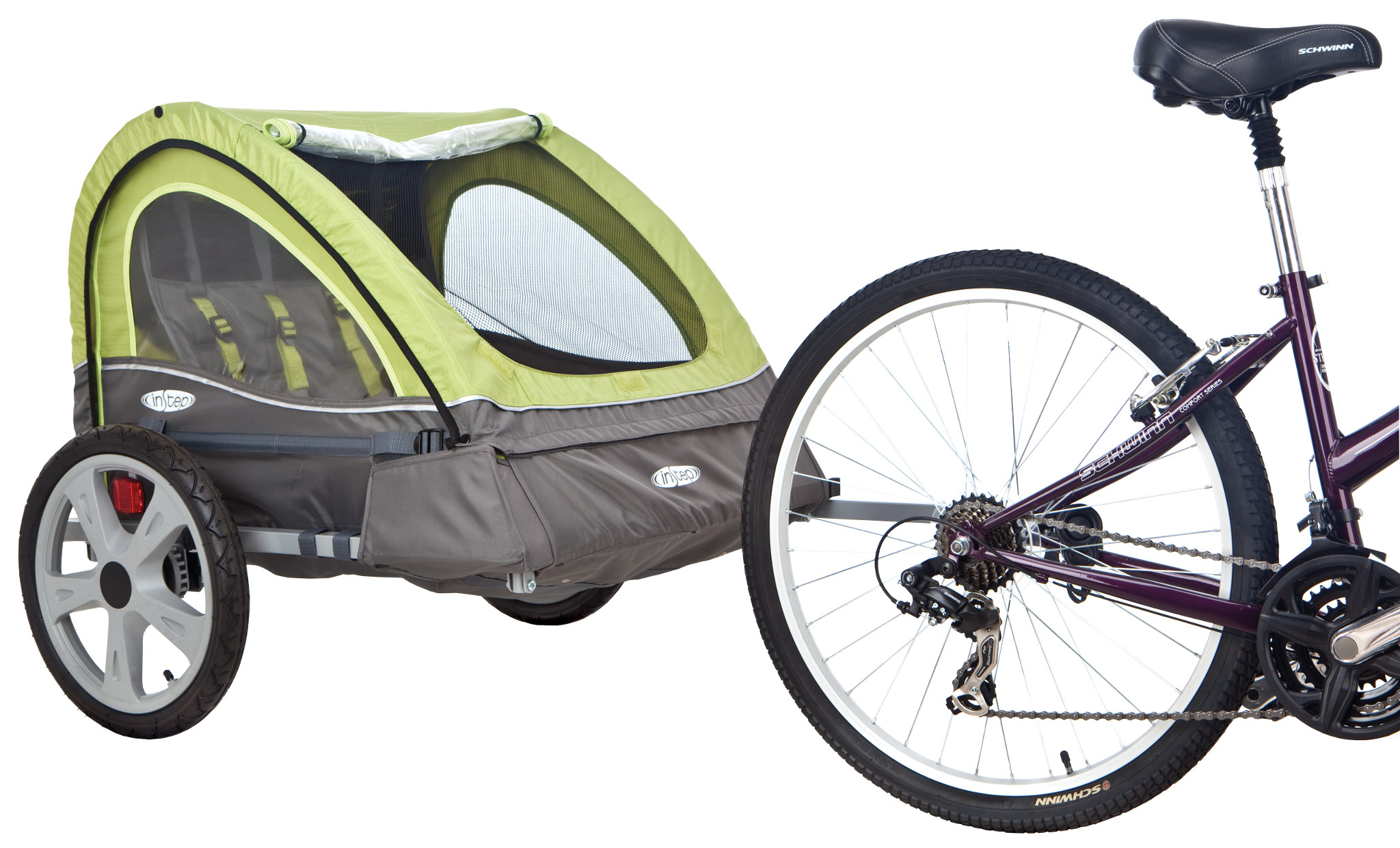 InStep Sierra Double Bicycle Trailer Stroller