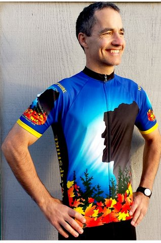 New Hampshire Cycling Jersey Medium