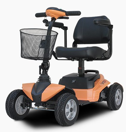 RiderXpress 450W Personal Transport 4 Wheel E Scooter