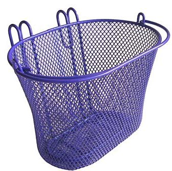 Biria CITY Hook Purple Child's Bicycle Basket