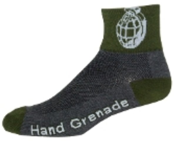 NLZ Hand Grenade Cycling Socks