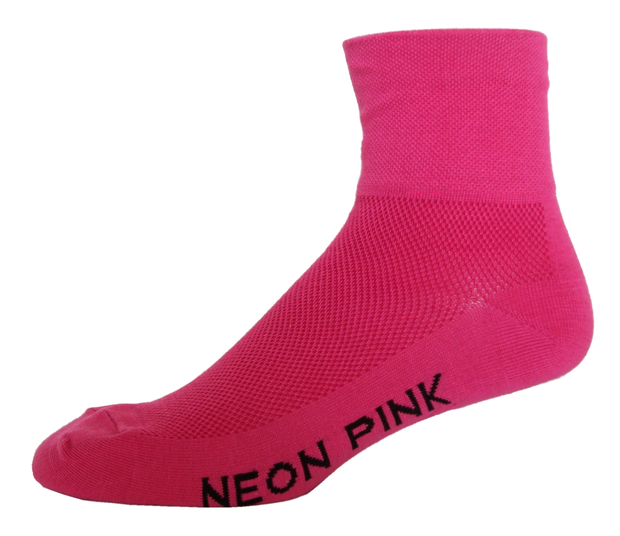 NLZ Neon Pink Cycling Socks