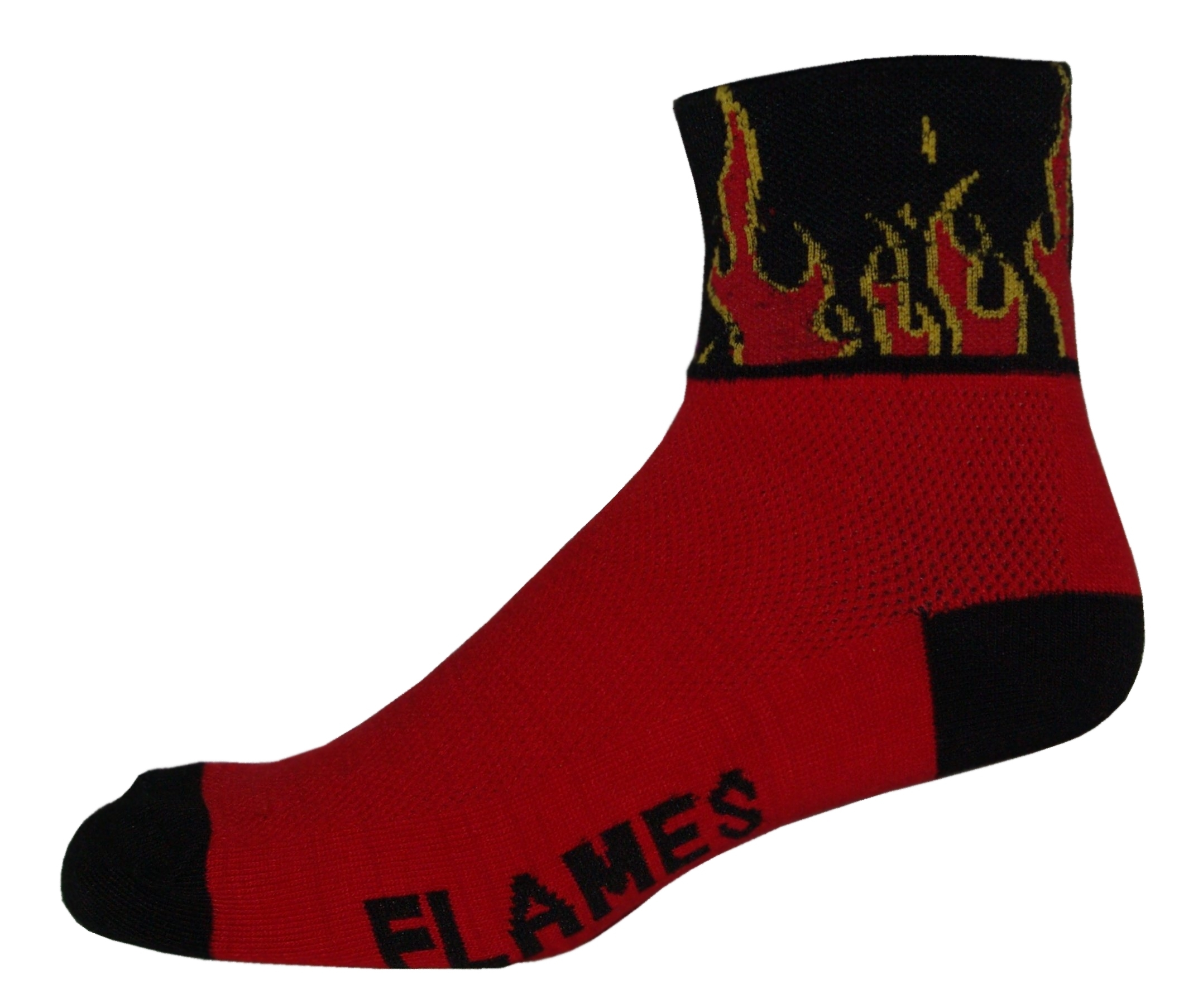 NLZ Flames Cycling Socks