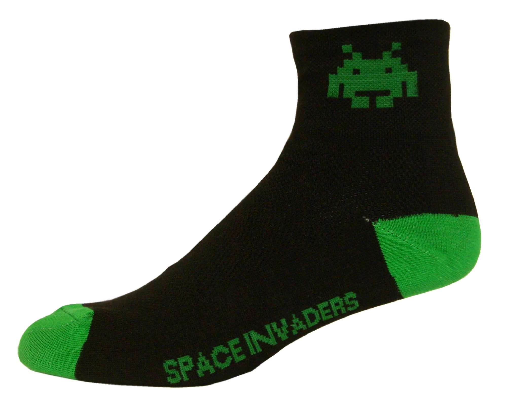 NLZ Space Invaders Cycling Socks