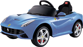 Best Ride On Cars Ferrari F12 12V Blue