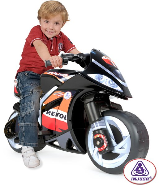 Injusa Repsol Wind 6v Motorcycle Ride on Toy