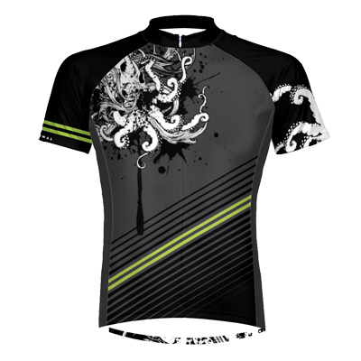 Primal Wear Ink Mens Cycling Jersey Medium