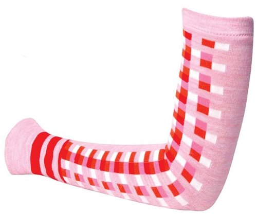 SOS Pink Tetra Wool Arm Warmers