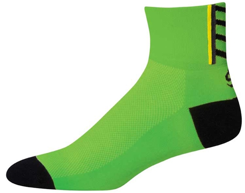 SOS OTF See Me Green Cycling Socks
