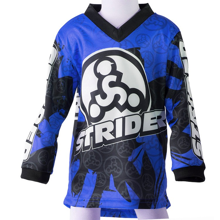 Strider Child's Bicycle Jersey Blue 4T