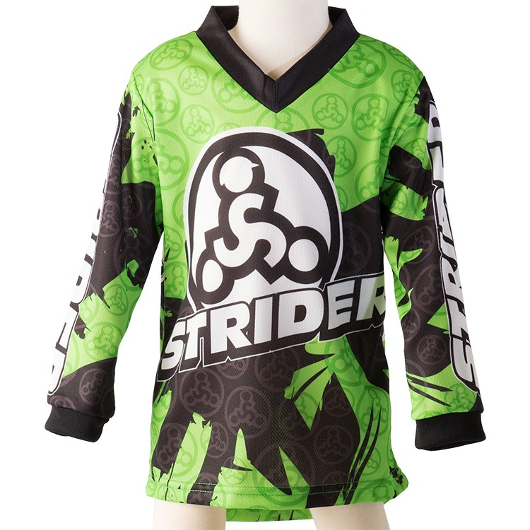 Strider Childs Bicycle Jersey Green 5T