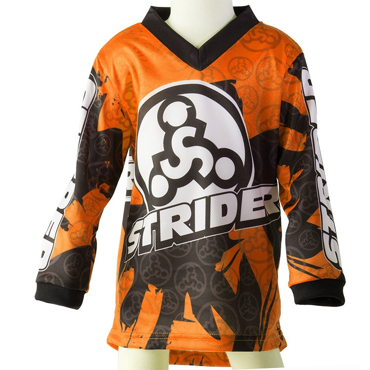 Strider Child's Bicycle Jersey Orange 5T