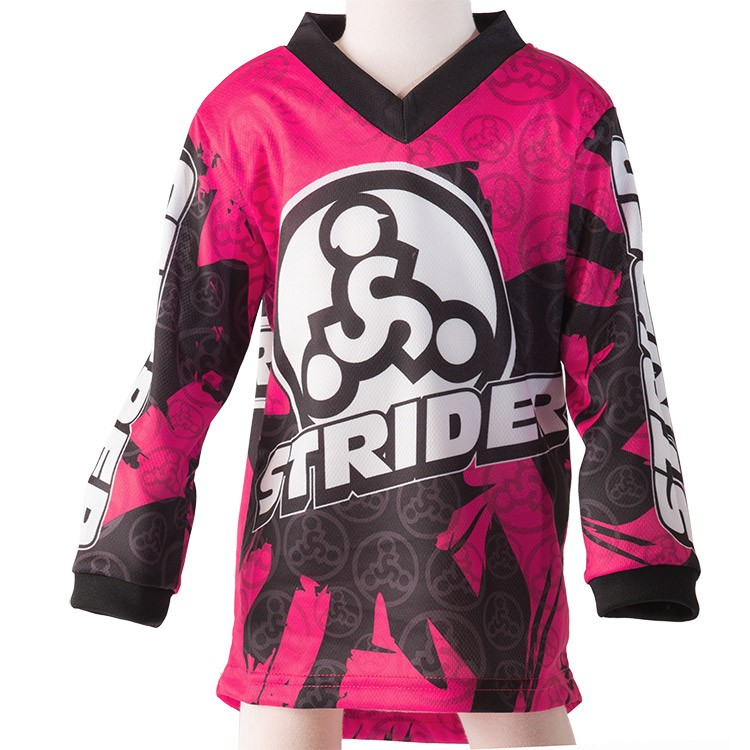 Strider Child's Bicycle Jersey Pink 3T