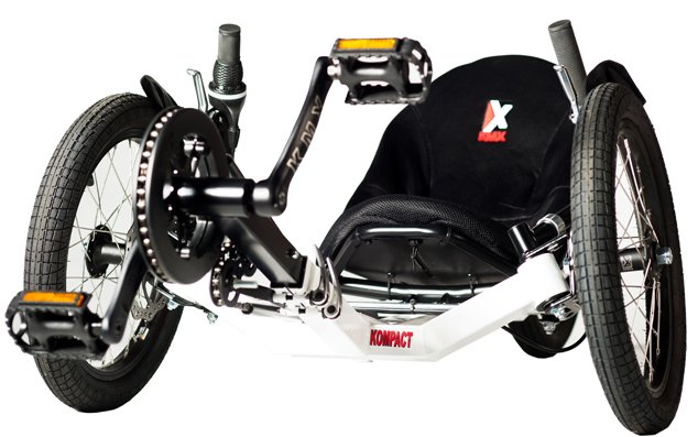 KMX Kompact Recumbent R Adult Trike for Small Riders