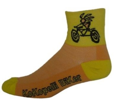 NLZ Kokopelli Biker Cycling Socks