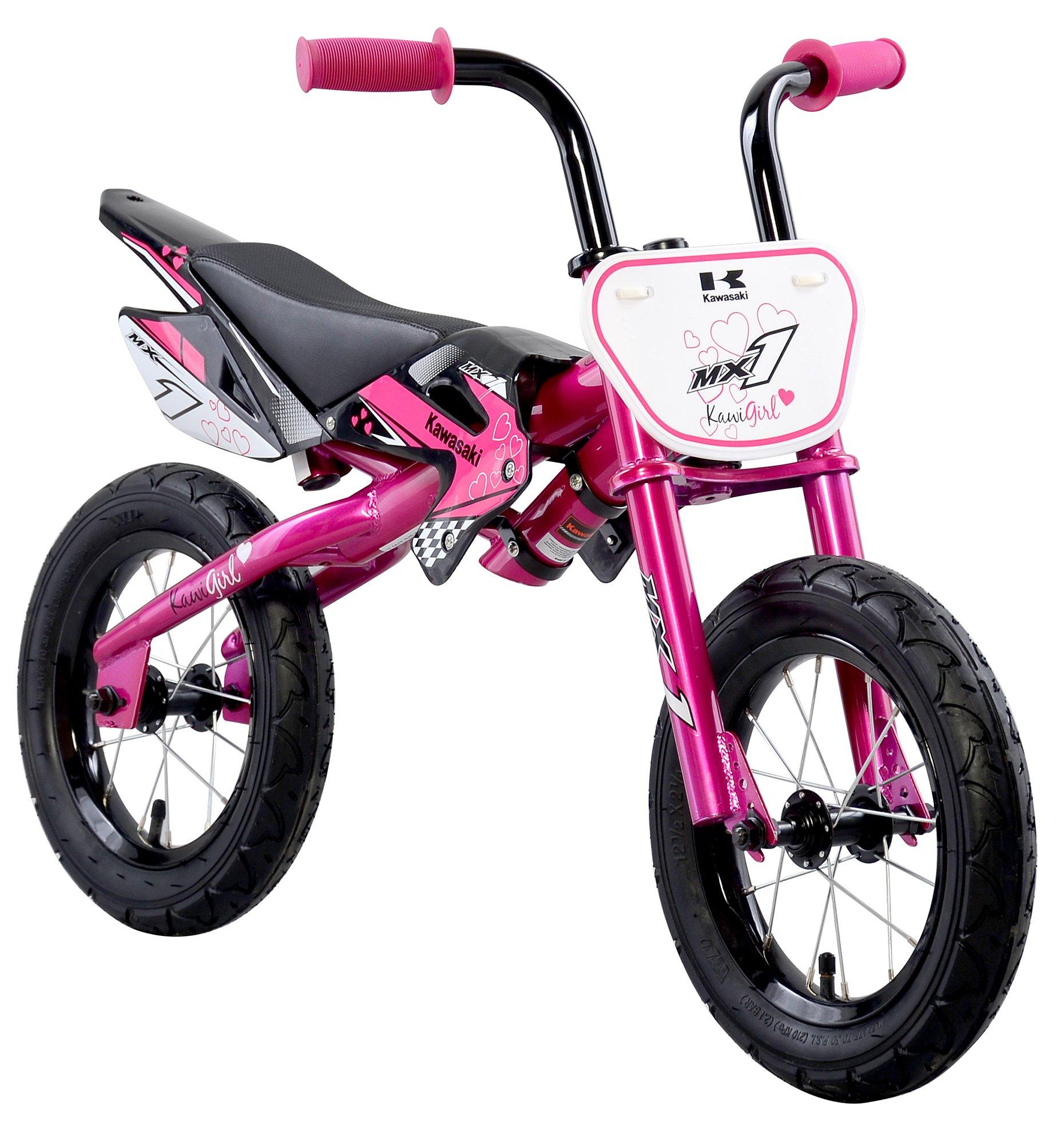 Kawasaki MX1 Pink Balance Running Bike