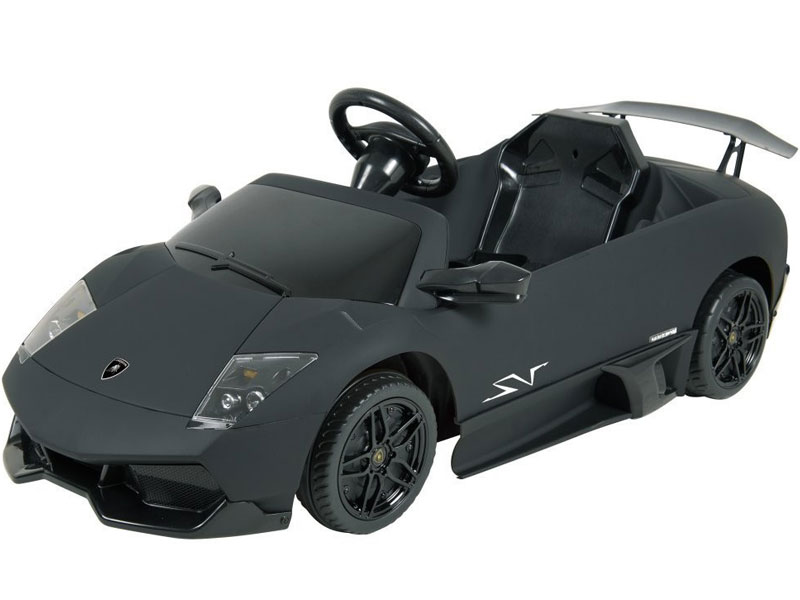 Kalee Lamborghini Murcielago Lp670 12v Black Ride On Car