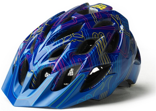 Kali Protectives Chakra Plus Graphic XC Bicycle Helmet