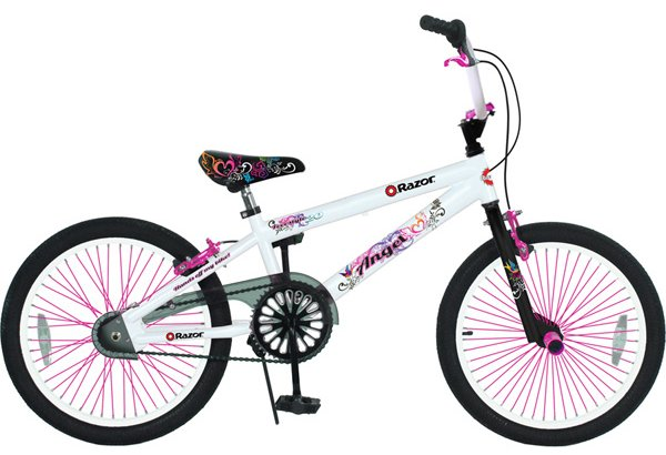 "Razor 20"" Girl's Angel BMX Bicycle"