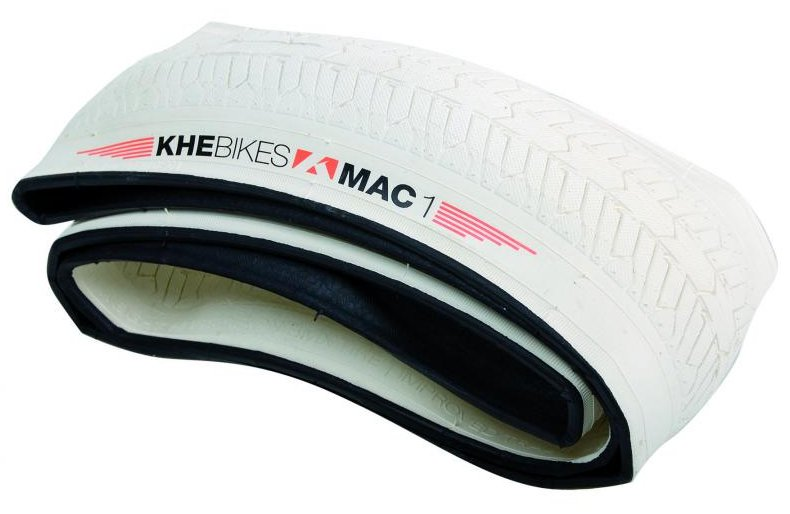 "KHE 20"" x 1.574"" Premium MAC1 Flat Folding Freestyle BMX Tire"