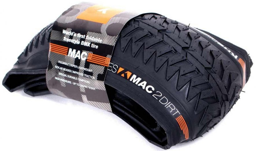 "KHE MAC2 24"" x 2.165"" Folding Dirt BMX Tire"