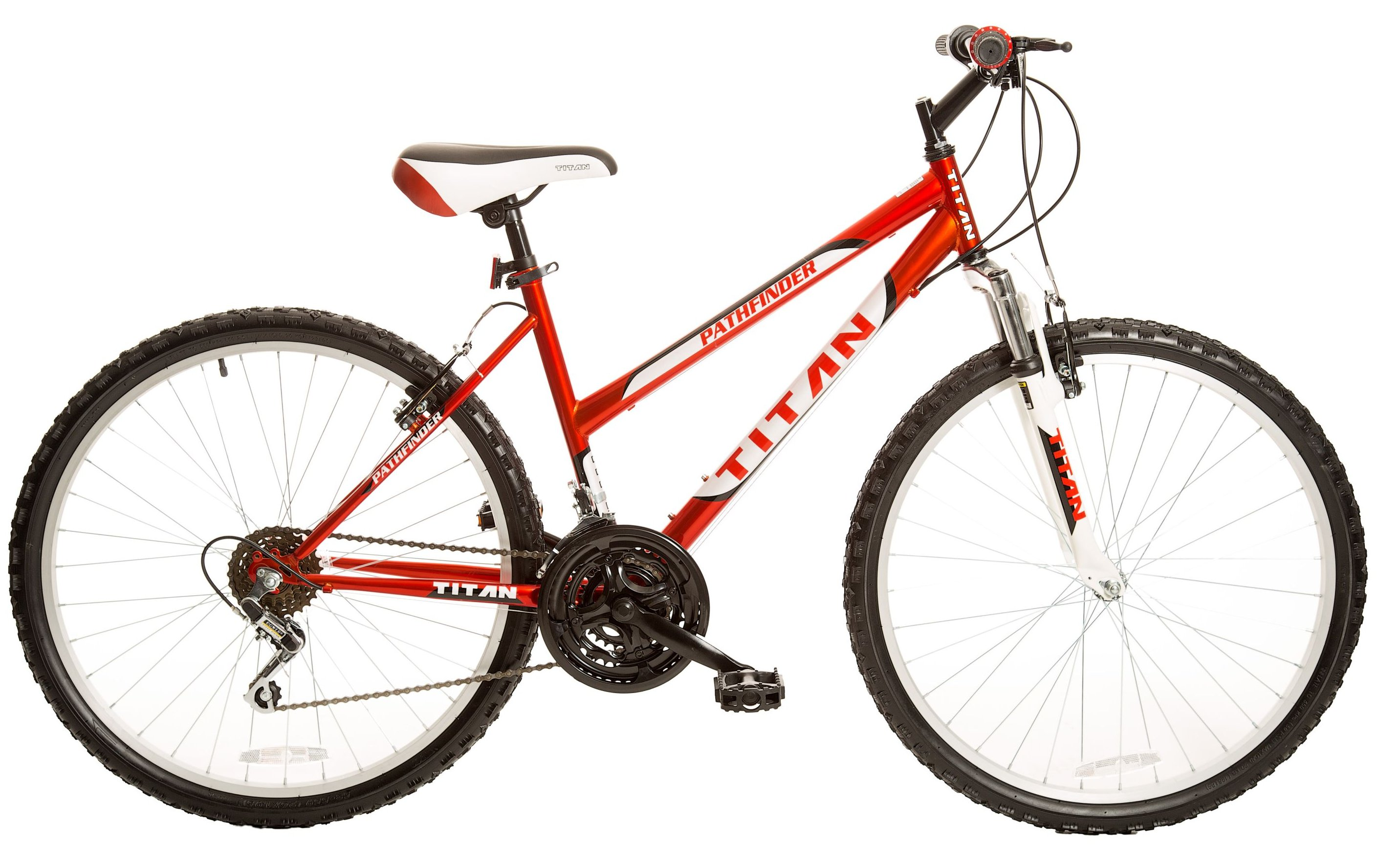 "Titan Pathfinder 105 26"" Ladies Steel ATB 18 Speed All Terrain Bicycle"