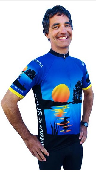 Minnesota Cycling Jersey Medium